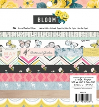Набор бумаги Bloom, Crate Paper, 15х15см