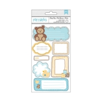 Наклейки Baby Boy Frame, American Crafts