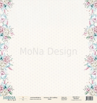 Набор бумаги Chic wedding, Mona design, 30х30см